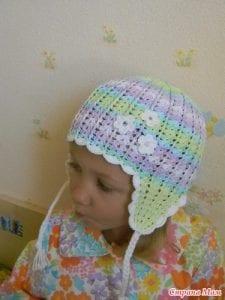 Bebek Örgü Şapka Yapılışı 26