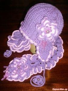 Bebek Örgü Şapka Yapılışı 27