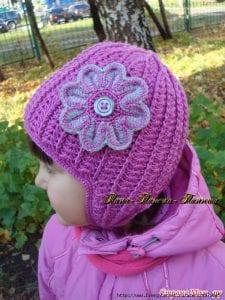 Bebek Örgü Şapka Yapılışı 35