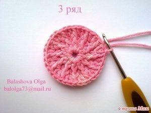 Bebek Örgü Şapka Yapılışı 8
