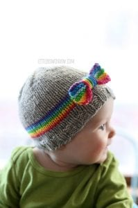 Bebek Şapka Modelleri Resimli Anlatım 13