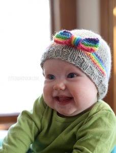 Bebek Şapka Modelleri Resimli Anlatım 16