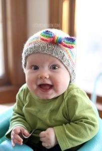Bebek Şapka Modelleri Resimli Anlatım 17