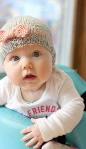 Bebek Şapka Modelleri Resimli Anlatım 3