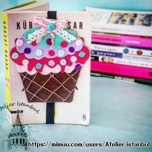 Cupcake Kitap Ayraci