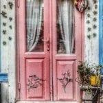 Dekoratif Dış Kapı Modelleri ve Fikirleri 27