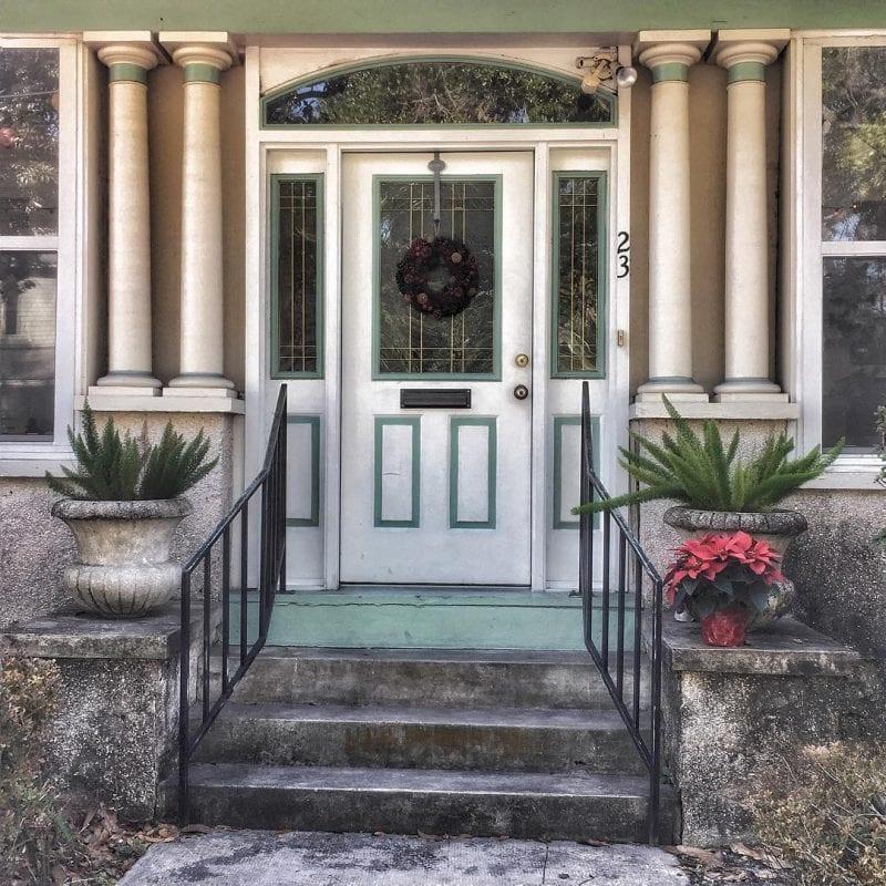 Dekoratif Dış Kapı Modelleri ve Fikirleri 46