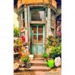Dekoratif Dış Kapı Modelleri ve Fikirleri 62