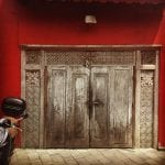 Dekoratif Dış Kapı Modelleri ve Fikirleri 63