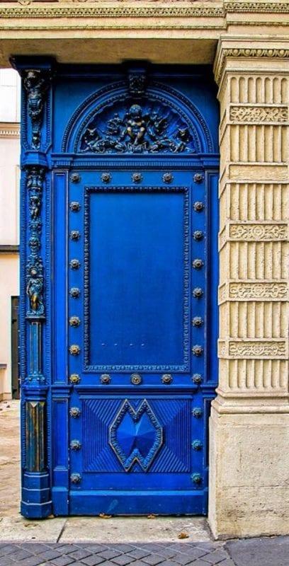 Dekoratif Dış Kapı Modelleri ve Fikirleri 6