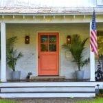 Dekoratif Dış Kapı Modelleri ve Fikirleri 74