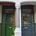 Dekoratif Dış Kapı Modelleri ve Fikirleri 79