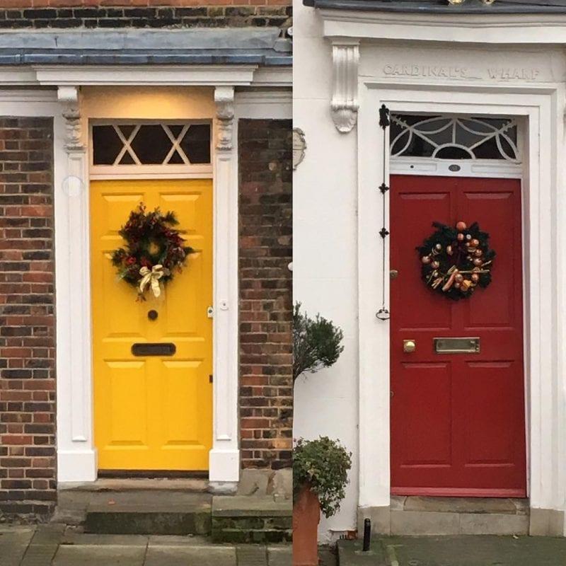 Dekoratif Dış Kapı Modelleri ve Fikirleri 83
