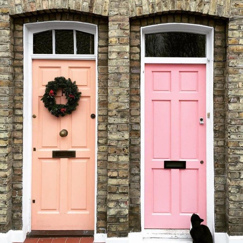 Dekoratif Dış Kapı Modelleri ve Fikirleri 92