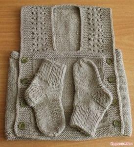 Dikişsiz Kolay Bebek Yeleği Yapılışı