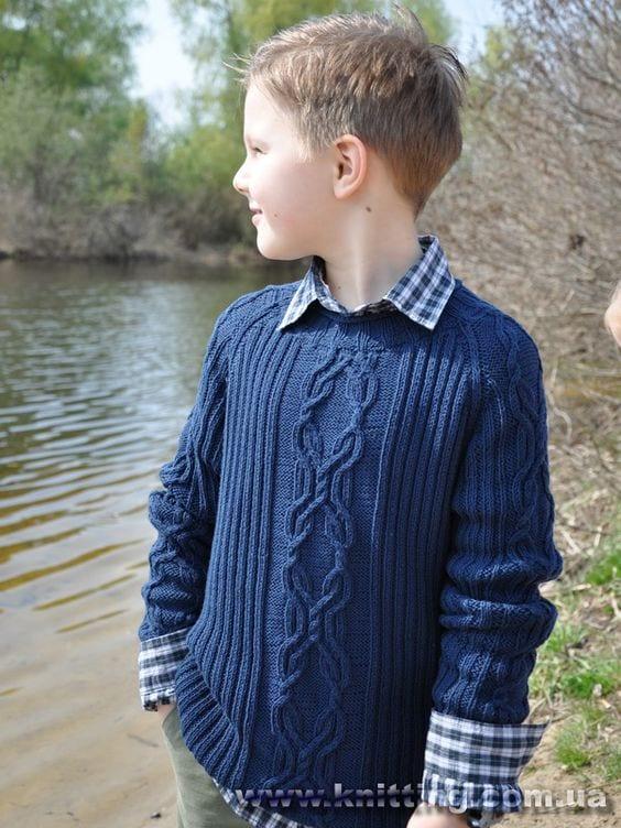 Erkek Çocuk Kazak Modelleri 20