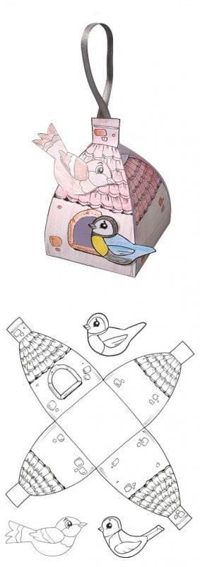 Kartondan Şekiller ve Yapılışları 48