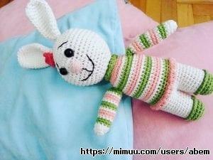 Amigurumi Kazaklı Tavşan