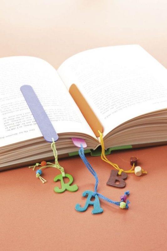 Keçeden Kitap Ayracı Modelleri 49