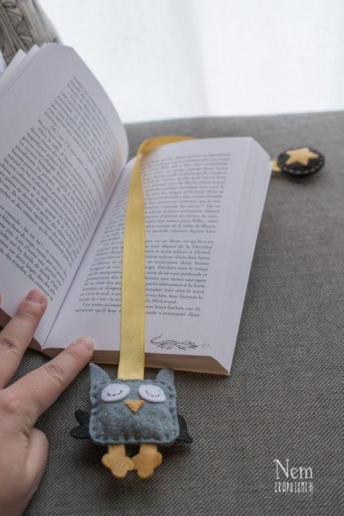 Keçeden Kitap Ayracı Modelleri