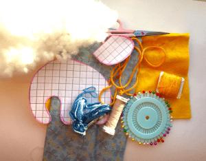Kumaştan Oyuncak Fil Yapımı 3
