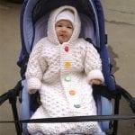Örgü Bebek Tulumu Yapılışı 3