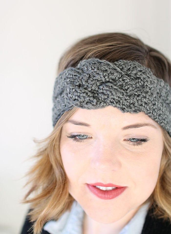 Free Crochet Pattern For Knotted Headband : ?rg? Sac Band? Modelleri ve Yap?l??? - Mimuu.com