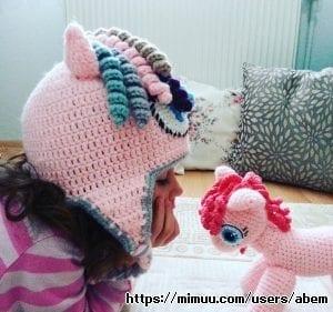 El Örgüsü Pony Şapka