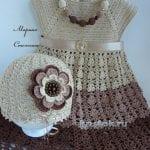 Tığ İşi Örgü Kız Çocuk Elbisesi Yapılışı 9
