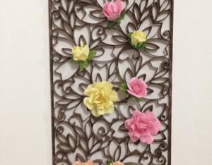 Tuvalet Kağıdı Rulosundan Duvar Süsü Yapımı 4