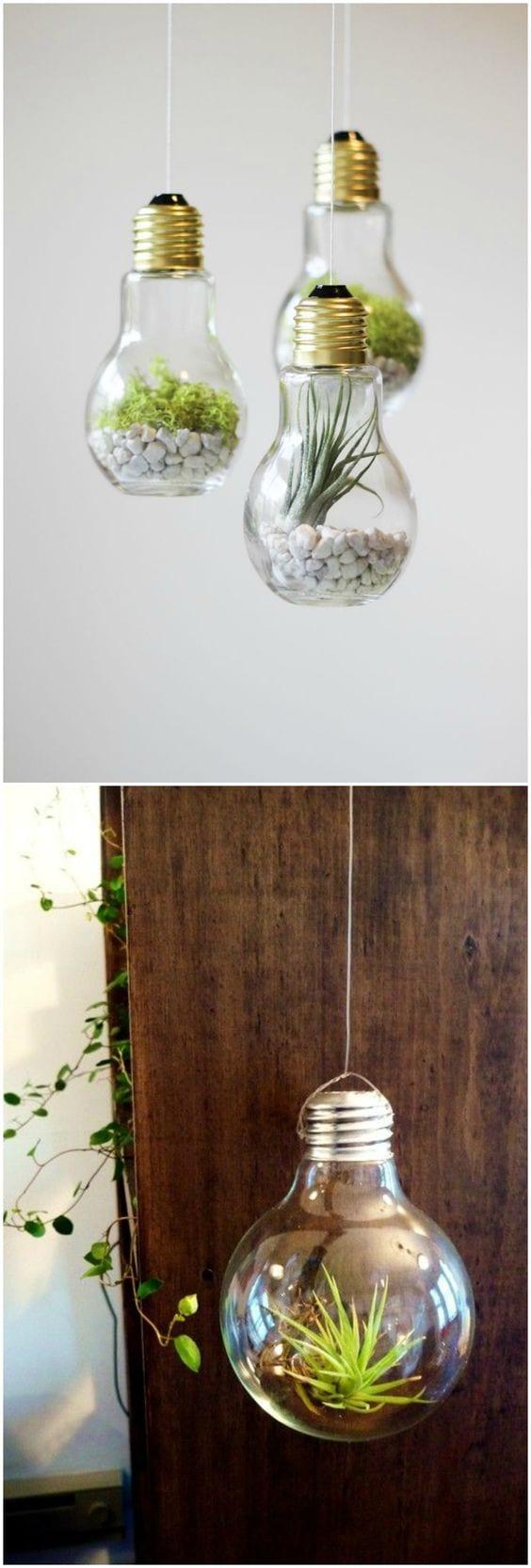 Etiket: ampulden vazo