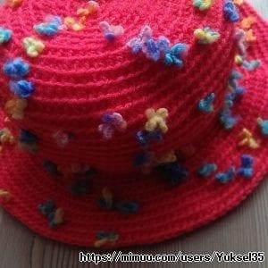 Bebek Şapkası Örgü
