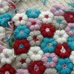 Çiçek Motifli Battaniye Nasıl Yapılır? 1