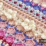 Çiçekli Deniz Kabuğu Örgü Modeli Yapılışı