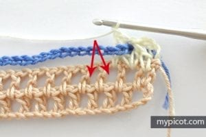 Çiçekli Deniz Kabuğu Örgü Modeli Yapılışı 5