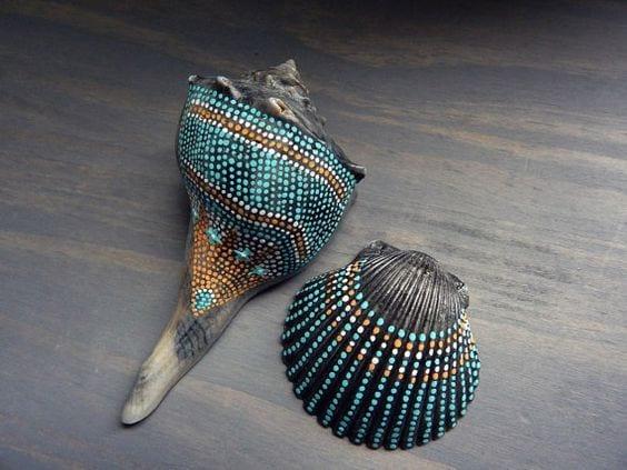 Deniz Kabuğu Boyama örnekleri 11 Mimuucom