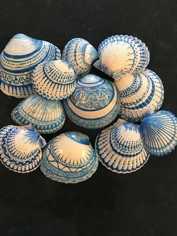 Deniz Kabuğu Boyama örnekleri 59 Mimuucom