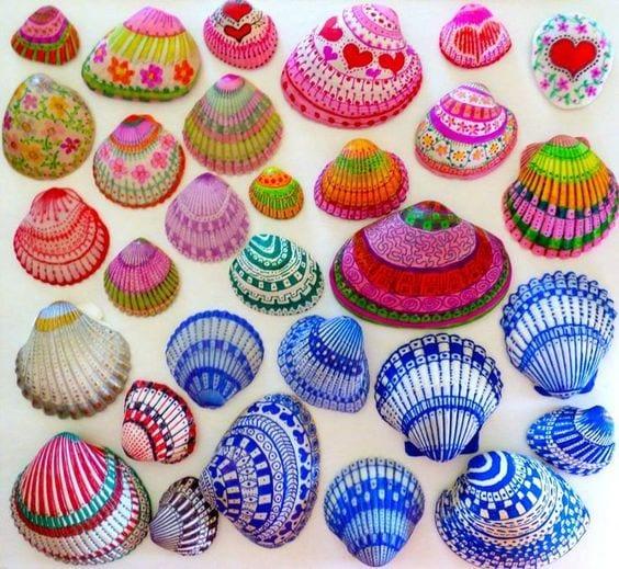 Deniz Kabuğu Boyama örnekleri 68 Mimuucom