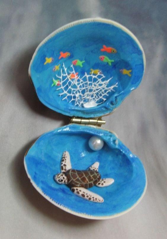 Deniz Kabuğu Boyama örnekleri 74 Mimuucom