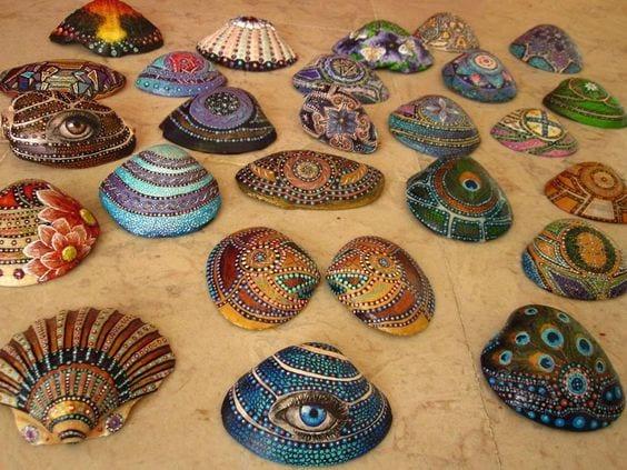 Deniz Kabuğu Boyama örnekleri 75 Mimuucom