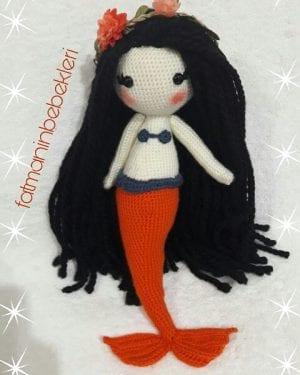 Amigurumi Deniz Kızı Modeli
