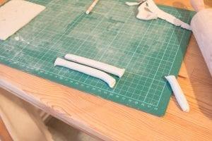 DIY, Polimer Kilden Dantel Tabak Nasıl Yapılır? 12