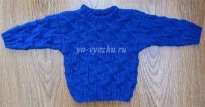 Erkek Çocuk Örgü Kazak Modelleri Anlatımlı 5