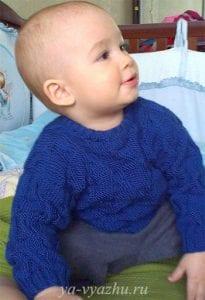 Erkek Çocuk Örgü Kazak Modelleri Anlatımlı 6