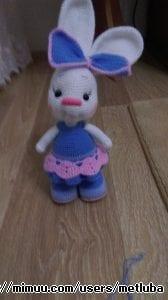 Amigurumi Etekli Tavşan Modeli