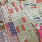 Gazeteden Dikdörtgen Sepet Nasıl Yapılır? 10