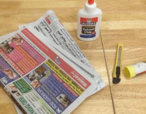Gazeteden Dikdörtgen Sepet Nasıl Yapılır? 23