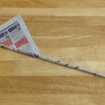 Gazeteden Dikdörtgen Sepet Nasıl Yapılır? 7