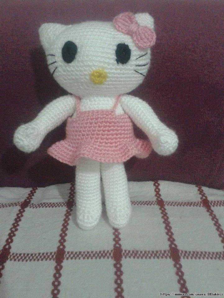 Amigurumi Hello Kitty Örgü Oyuncak Tarifi | Hello kitty, Amigurumi ... | 960x720