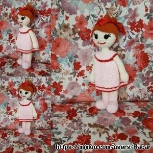 Amigurumi Kızıl Saç Kız